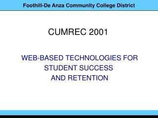 CUMREC 2001