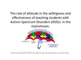 Emma Goodall PhD Student @ Canterbury University