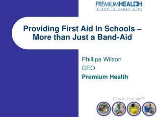 Providing First Aid In Schools – More than Just a Band-Aid