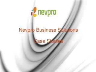 Nevpro Business Solutions Case Studies