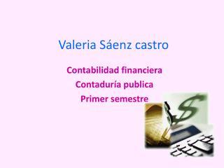 Valeria Sáenz castro