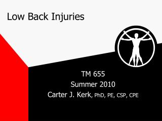 Low Back Injuries