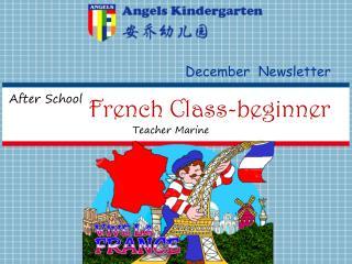French Class-beginner