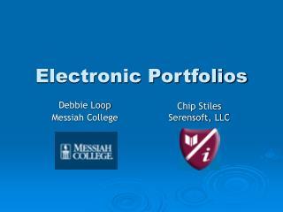 Electronic Portfolios