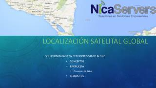 Localización satelital global