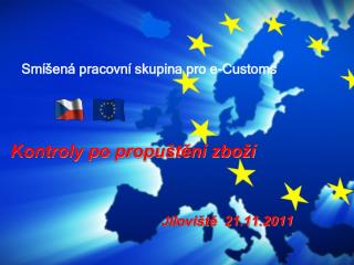 Sm�en� pracovn� skupina pro e-Customs