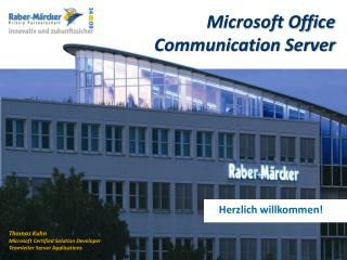 Microsoft Office Communication Server
