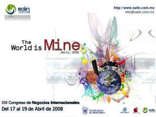 XIII Congreso de  Negocios Internacionales