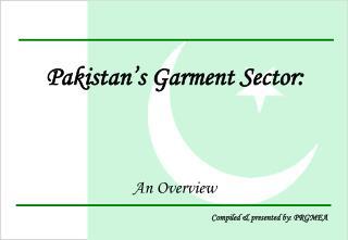 Pakistan's Garment Sector:
