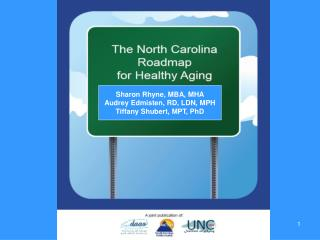 Sharon Rhyne, MBA, MHA Audrey Edmisten, RD, LDN, MPH Tiffany Shubert, MPT, PhD