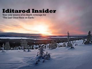 Iditarod Insider
