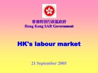 HK's labour market