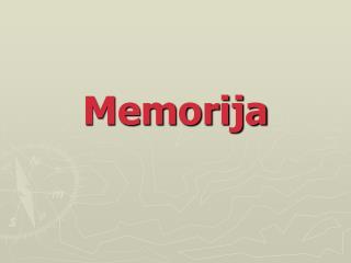 Memorija
