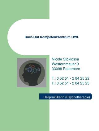 Burn-Out Kompetenzzentrum OWL