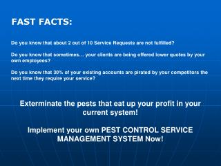 Do you know that about 2 out of 10 Service Requests are not fulfilled?