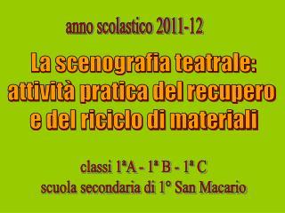 anno scolastico 2011-12