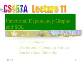 Functional Dependency Graphs and SQL
