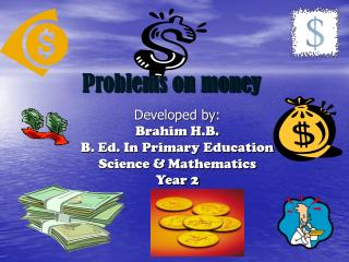 Problems on money