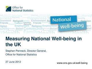 Measuring National Well-being in the UK