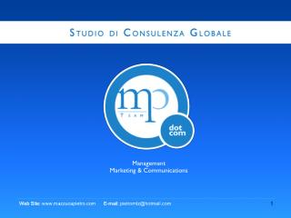 Management Marketing & Communications
