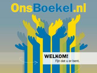 """Welkom bij  """" Ons Boekel .nl """""""