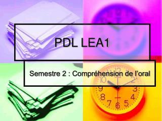 PDL LEA1