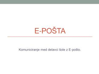 E-PO�TA