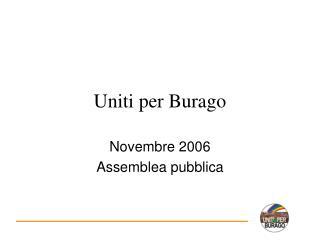 Uniti  per Burago