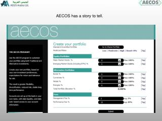 AECOS has a story to tell.