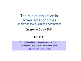 Brussels – 6 July 2011 FEE/ IFAC