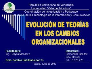 Integrante : Hernández Benítez Iribel Roxely C.I. 13.376.475
