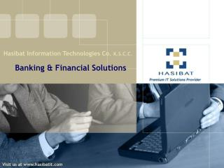 Banking & Financial Solutions