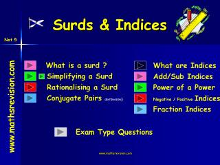 Surds & Indices