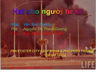 Quê h ươ ng Việt Nam một th ờ i l ử a khói