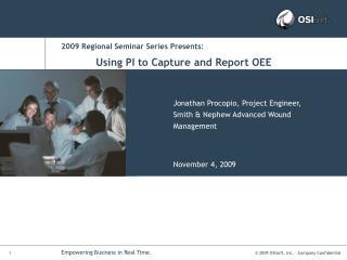 2009 Regional Seminar Series Presents: