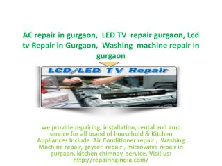 LED tv Repair in Gurgaon, Plasma tv Repair in Gurgaon
