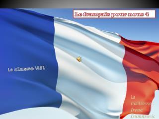 Le  français  pour nous 4