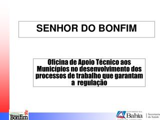 SENHOR DO BONFIM