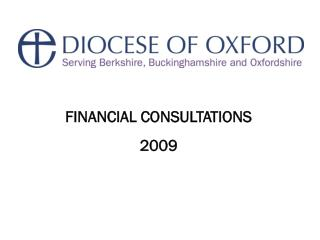 FINANCIAL CONSULTATIONS 2009
