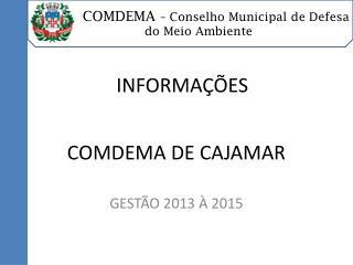 COMDEMA DE CAJAMAR