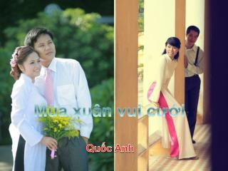 Mùa xuân vui cưới