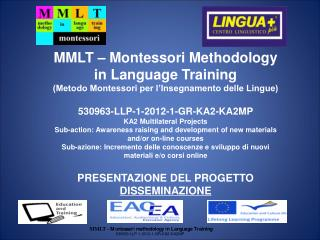 MMLT – Montessori Methodology in Language Training