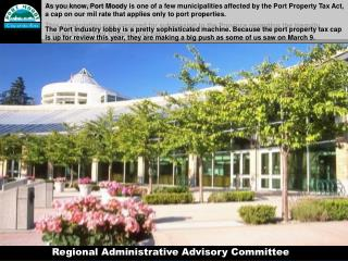 Regional Administrative Advisory Committee