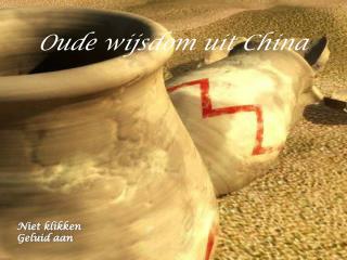 Oude wijsdom uit China