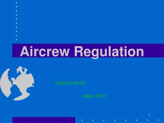 Aircrew Regulation