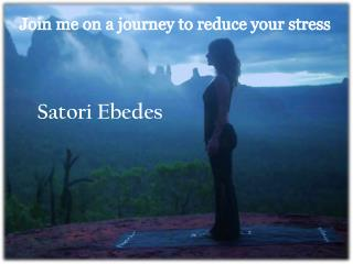 Join me on a journey  to reduce your  stress