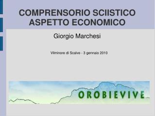 COMPRENSORIO SCIISTICO ASPETTO ECONOMICO