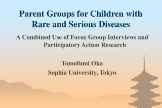 Parent Groups for Children with Rare and Serious Diseases