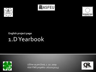 1.D  Yearbook