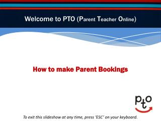 How to make Parent Bookings